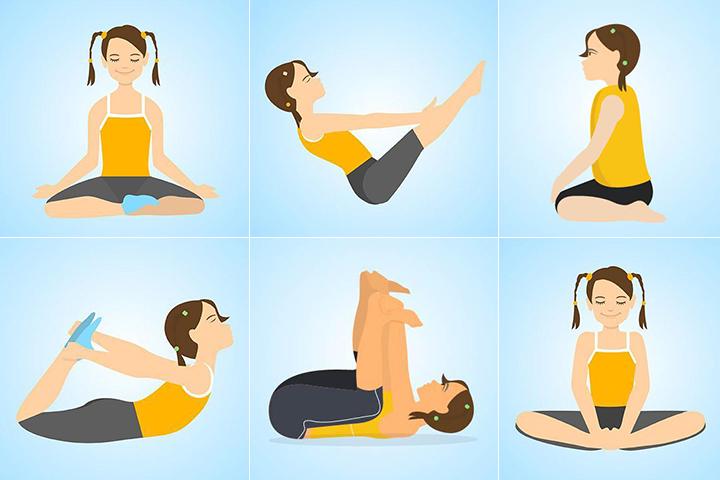 15 mejores posturas de yoga para niños